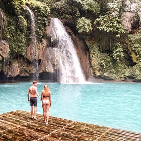 Visit Kawasan Falls in Philippines - Bucket List Ideas