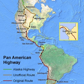 Drive the Pan-American Highway - Bucket List Ideas