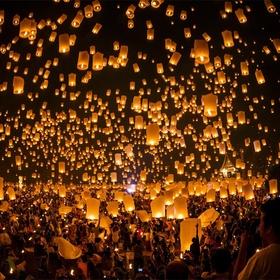 Attend the Lantern Festival in Taiwan - Bucket List Ideas