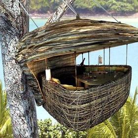 Go to the Nesturant at the Soneva Kiri Resort - Bucket List Ideas