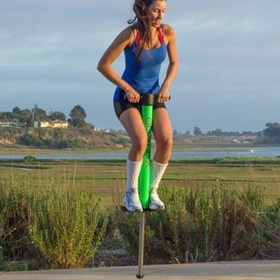 Try to get on a pogo stick and be successful without breaking anything - Bucket List Ideas