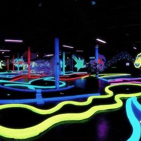 Play glow in the dark mini golf! - Bucket List Ideas