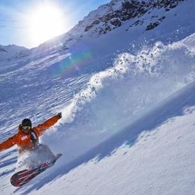 Snowboard in the Alpes - Bucket List Ideas