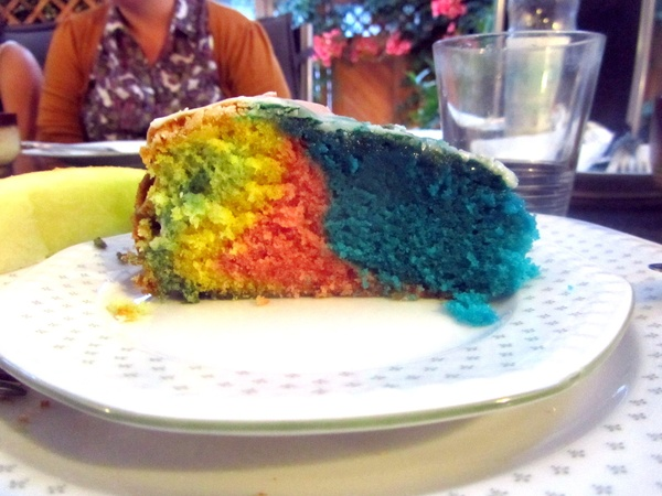 Make (then quickly eat) a rainbow cake - Bucket List Ideas