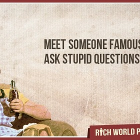 Meet Someone Famous - Bucket List Ideas