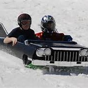 Participate in the Adirondack Cardboard Sled Races - Bucket List Ideas