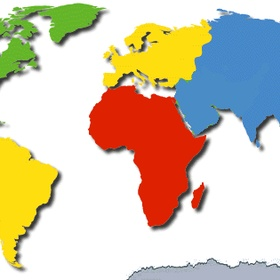 Have been on three continents - Bucket List Ideas