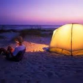 Camp under the stars on the beach and see the sun rise - Bucket List Ideas