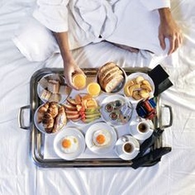 ⚜️Order Food from Room Service - Bucket List Ideas