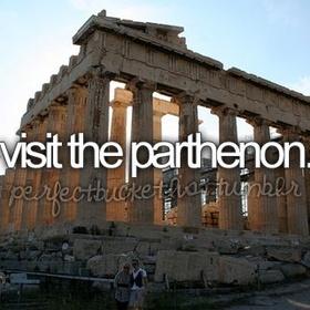 See the Parthenon - Bucket List Ideas