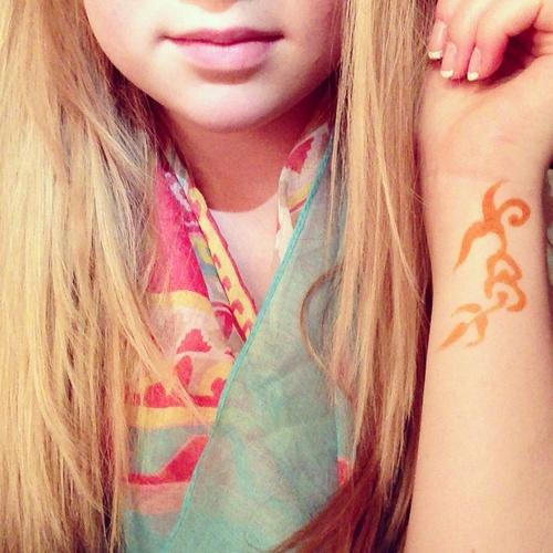 Get a henna tattoo - Bucket List Ideas
