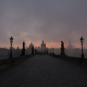 Cross Charles Bridge in Prague - Bucket List Ideas
