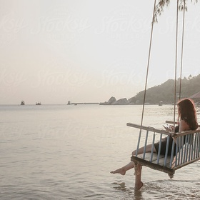 Swing over water - Bucket List Ideas
