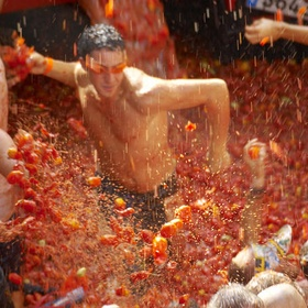 Participate in La Tomatina in Spain - Bucket List Ideas