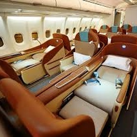 Fly first class to America - Bucket List Ideas