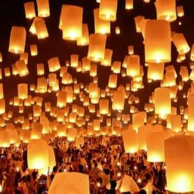 Attend loi krathong in thailand - Bucket List Ideas