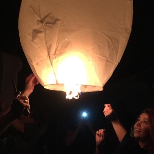 Let go of a Floating Lantern - Bucket List Ideas