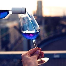 Try blue wine - Bucket List Ideas