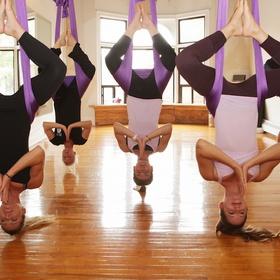Take an aerial yoga class - Bucket List Ideas