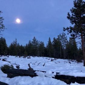 Do a Full Moon Hike - Bucket List Ideas