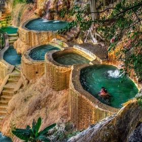 Swim in the Tolantongo Caves pools, Mexico - Bucket List Ideas