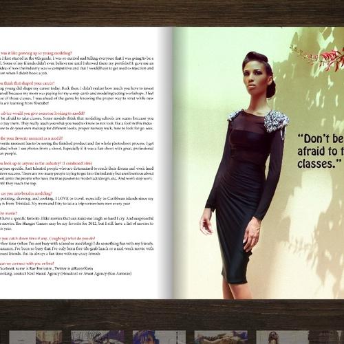 Model for a magazine - Bucket List Ideas