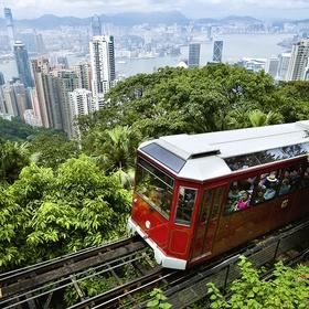 Take the Peak tram in Hong Kong, China - Bucket List Ideas