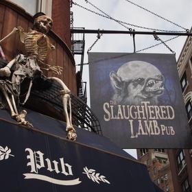 Visit the slaughtered lamb pub (NYC) - Bucket List Ideas