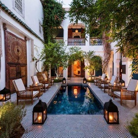 Stay in a traditional riad in Marrakech,  Morocco - Bucket List Ideas