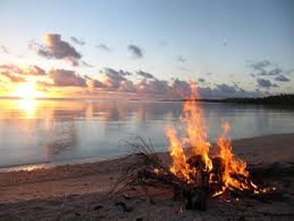Have a Bonfire on the Beach - Bucket List Ideas