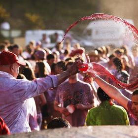 Participate in the Wine Fight Festival in Spain - Bucket List Ideas