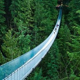 Cross a real suspension bridge - Bucket List Ideas
