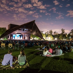 Free Show at Miller Outdoor Theater - Bucket List Ideas