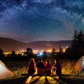 Go camping! - Bucket List Ideas