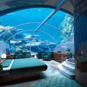 Spend the night in an underwater hotel - Bucket List Ideas