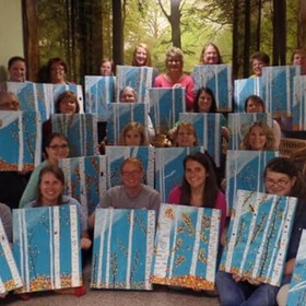 Attend a social paint party - Bucket List Ideas