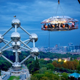 ⚜️Have Dinner in the Sky - Bucket List Ideas