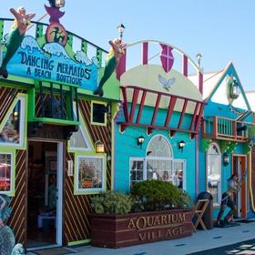 Go shopping at Aquarium Village in Newport Oregon - Bucket List Ideas