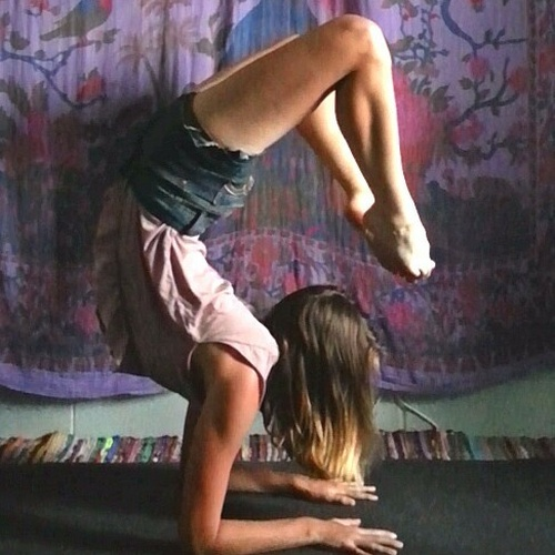 """Be able to do the """"scorpion"""" yoga pose - Bucket List Ideas"""