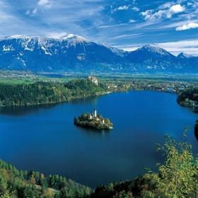 Kayak across Lake Bled, Slovenia - Bucket List Ideas