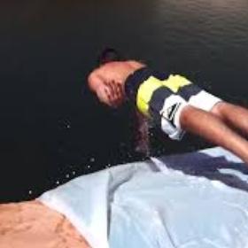 Make and do a cliff slip n slide - Bucket List Ideas