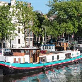 Stay overnight in a houseboat in  Amsterdam, Netherlands - Bucket List Ideas