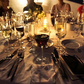 Dress Up For Dinner Whether At Home or Even At A Pizza Parlor - Bucket List Ideas