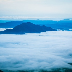 Stand on a mountain above the clouds - Bucket List Ideas