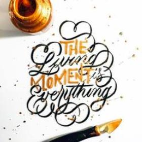 Learn calligraphy - Bucket List Ideas