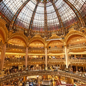 Go to the Galeries Lafayette in Paris - Bucket List Ideas