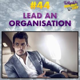 Lead an Organisation - Bucket List Ideas
