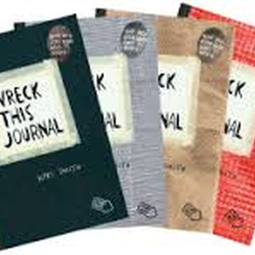 "Have a ""Wreck This Journal"" - Bucket List Ideas"