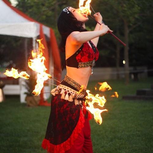 Dance with a fire belt - Bucket List Ideas