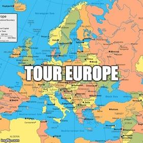 Tour Europe - Bucket List Ideas